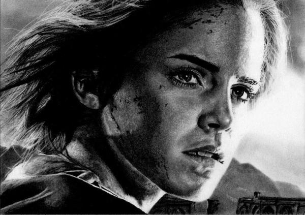 Emma Watson by Sadness